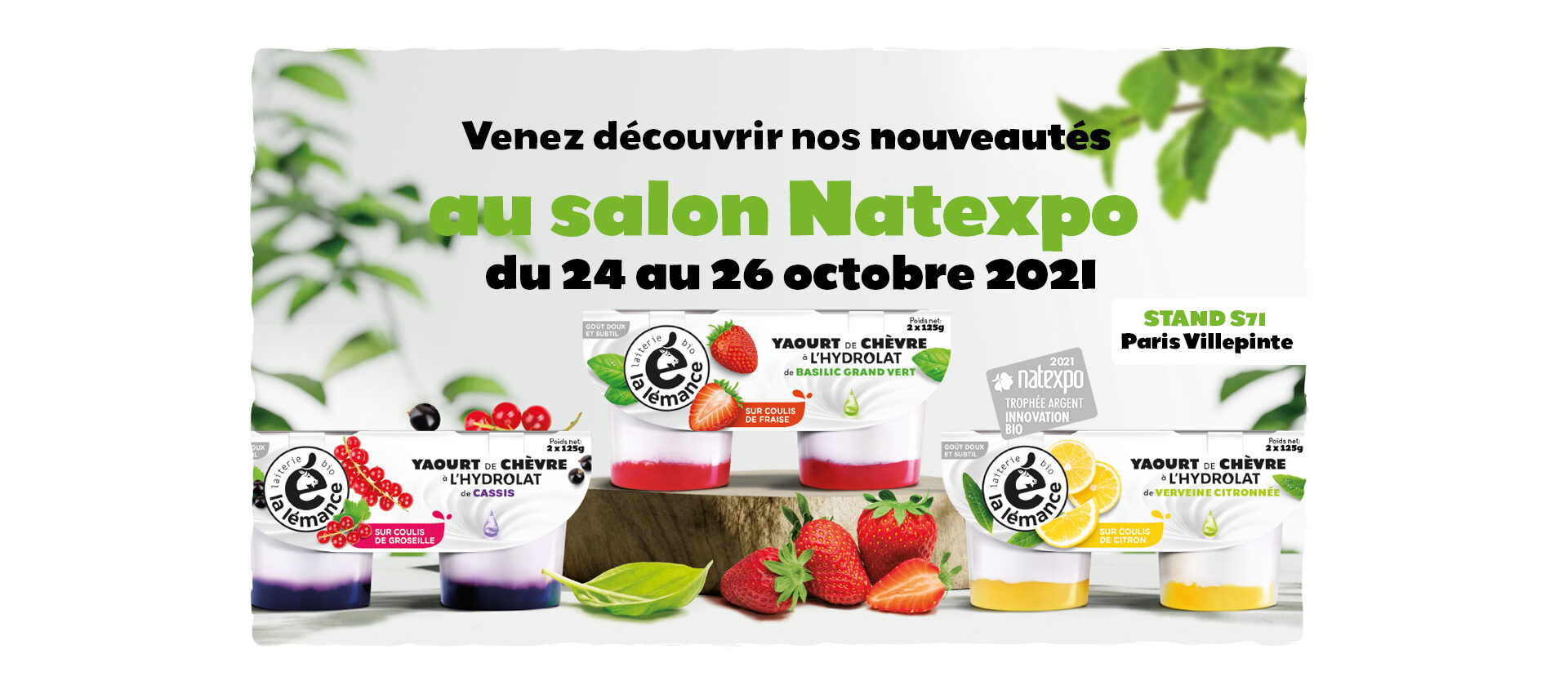 Salon Natexpo - Du 24 au 26 octobre2021